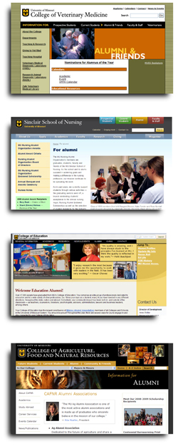 School-College Web Pages